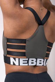 Nebbia Dámsky športový mini top Lift Hero 515