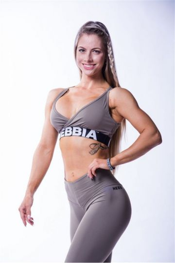 NEBBIA Dámsky Mini Top Open Back 620