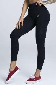 Gym Glamour Legíny Bezšvové Black