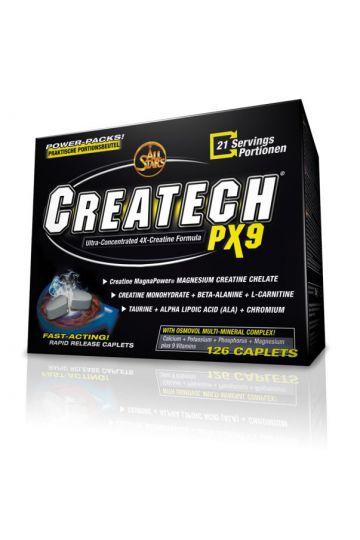 Kreatin All stars Crea - tech px9 126 kaps