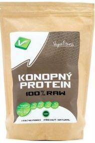 Vegan Fitness 100% Raw konopný protein