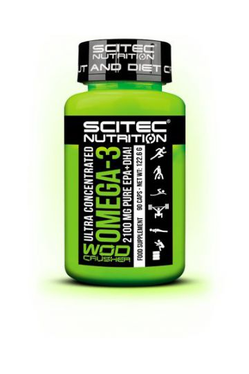 Scitec Nutrition Ultra Concentrated Omega-3 Wod Crusher 90 kaps