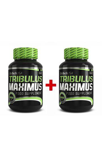 BioTech USA Tribulus Maximus 90 Tabletten 1+1Gratis