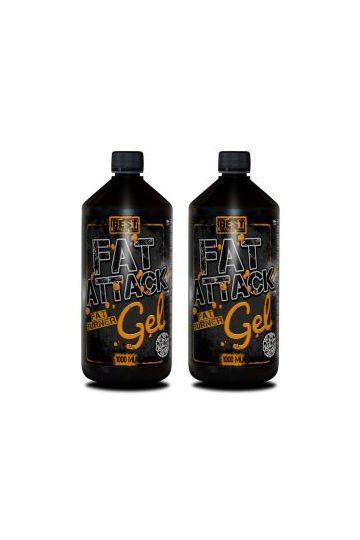 1+1 Zadarmo: Fat Attack GEL - Best Nutrition - Balenie: 500 ml + 500 ml