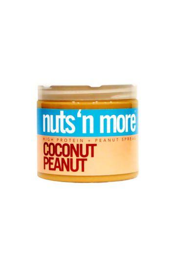 Nuts`N more Arašídové maslo kokos s proteínom 454g