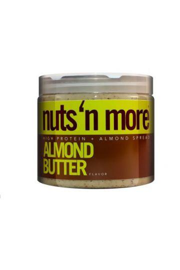 Nuts`N more Mandľové maslo s proteínom 454g