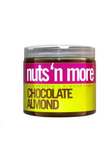 Nuts`N more Mandľové maslo čokoláda s proteínom 454g