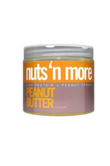 Nuts`N more Arašídové maslo s proteínom 454g