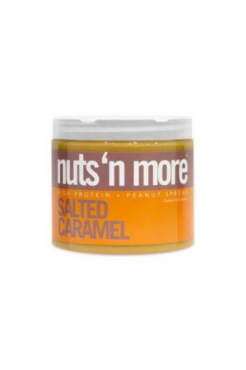 Nuts`N more Arašídové maslo slaný karamel s proteínom