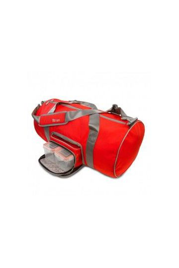 Taška do fitka Transporter Duffel červená
