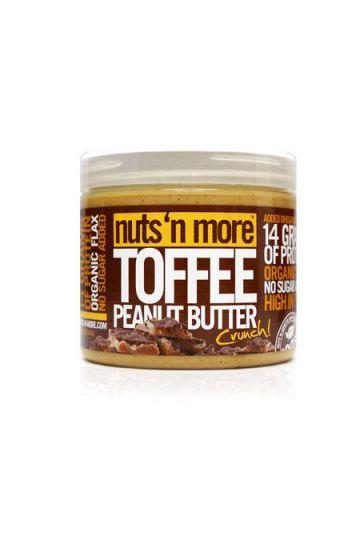 Nuts`N more Arašídové maslo karamel s proteínom