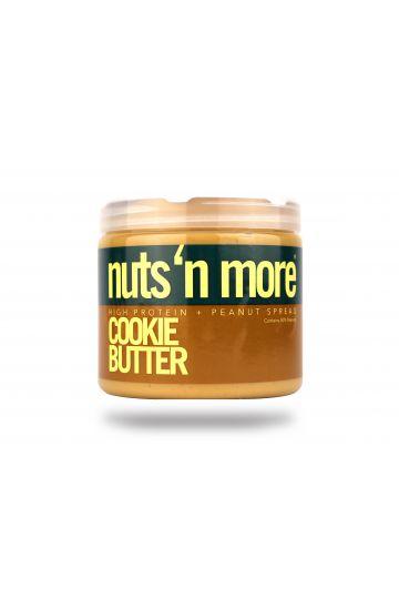 Nuts`N more Arašídové maslo Cookie Butter s proteínom