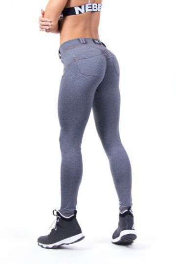 NEBBIA Bubble Butt Leggings 253 Grau