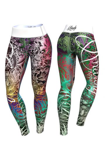 Anarchy Apparel Irezumi Leggings