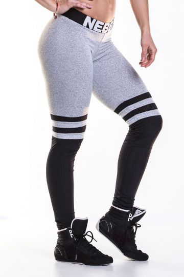NEBBIA Legíny Over the knee - Grey 286