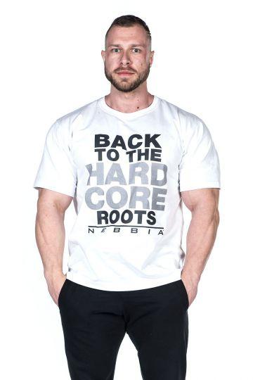 Nebbia HardCore tričko 391 Biele