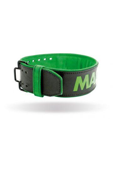 """MADMAX Opasok kožený Quick Release Belt - 4"""" 10 mm"""