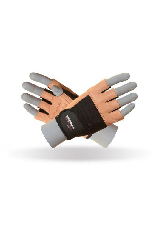 MadMax Fitness Natural Brown rukavice