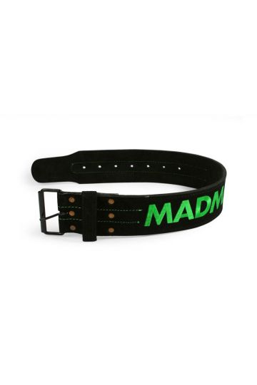 """MadMax Suede Single Prong belt - 4"""" 10 mm öv"""