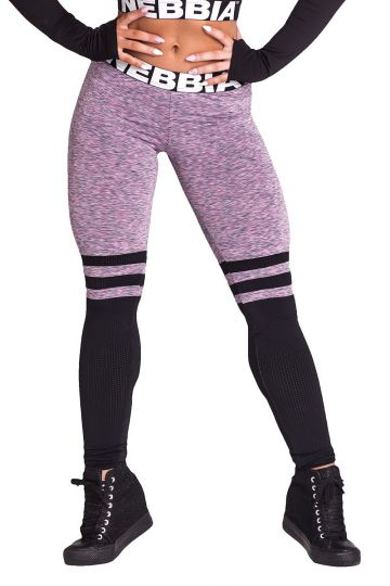 NEBBIA Over the knee Leggings 286 - Purple
