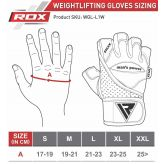 RDX Leather Bodybuilding Gym Weight Lifting Rukavice