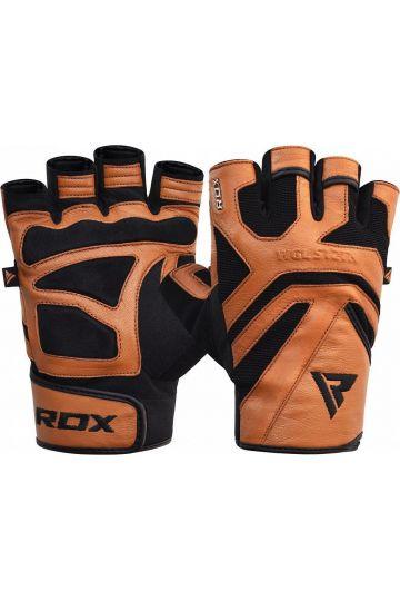RDX S12 Fitness Handschuhe - Braun