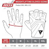 RDX Gym Weight Lifting S12 GRAY Rukavice