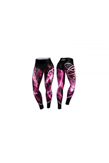 Anarchy Apparel Quantum Legíny Black/Pink