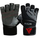 RDX Fitness Rukavice Deepoq Sivo/Čierne