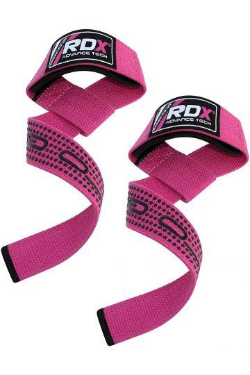 RDX Pro Gewichtheben Fitnessstudio Zughilfen - Rosa