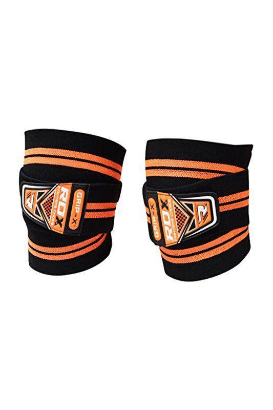 RDX K3 Bandáže na kolená - Oranžové
