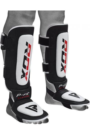 RDX T2 MMA Kožené Chrániče na nohy