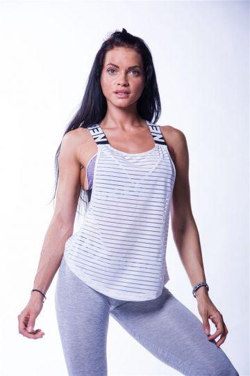 NEBBIA - Fitness tielko dámske WRAP UP 626