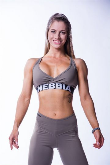 NEBBIA Dámsky Mini Top Open Back 620
