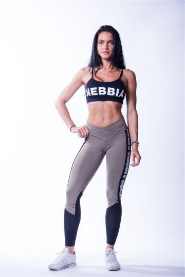 NEBBIA Dámske Legíny High Waist Mesh 601