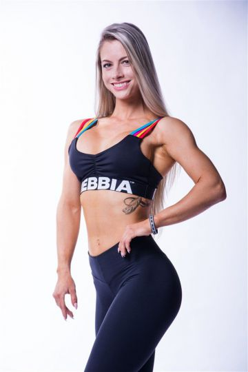 NEBBIA Rainbow Damen Mini Top 621