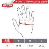 RDX Dámske Fitness Rukavice F23