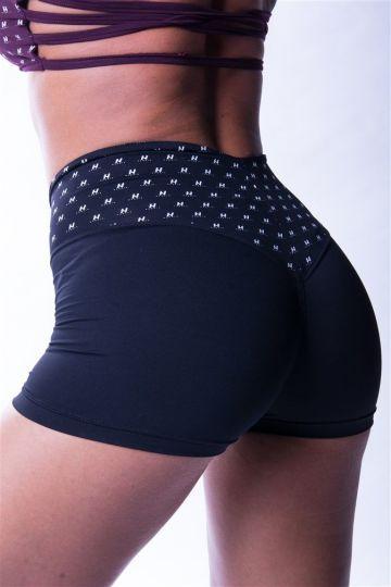 NEBBIA Hig Waist N's Damen Shorts 648