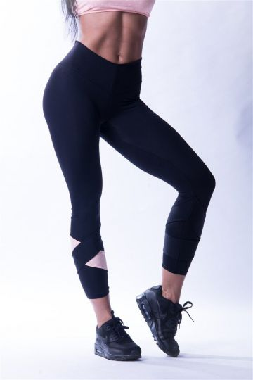 NEBBIA Asymmetrical 7/8 Damen Leggings 639
