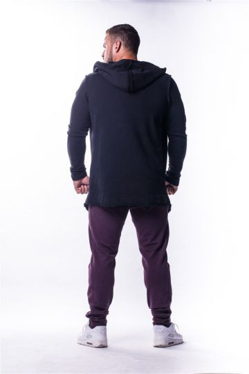 NEBBIA AW predĺžený kabát 724