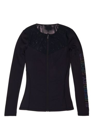 Superdry Dámska športová mikina Performance zip through top
