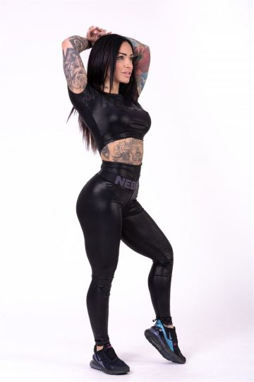 "NEBBIA High waist ""Sandra D"" legíny 656"