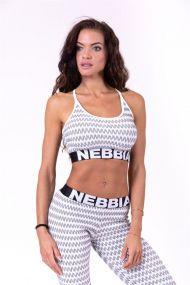 Nebbia Boho Style 3D pattern mini top 659
