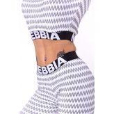 Nebbia Boho Style 3D pattern crop top 660