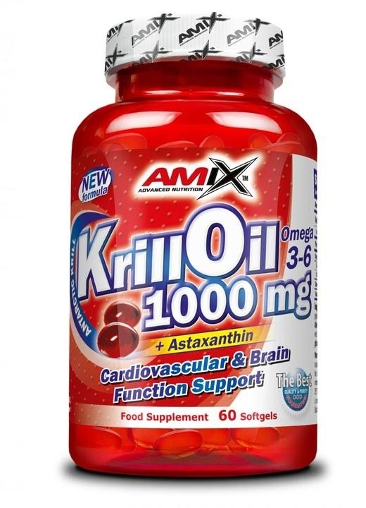 Amix Krill Oil 1000 60 tabliet