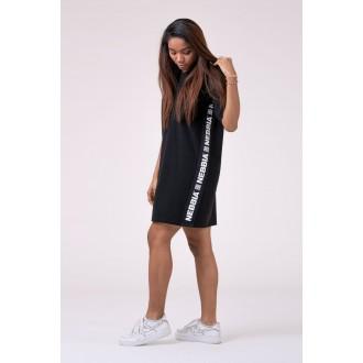 Nebbia šaty Playful Restday 522 - Čierne