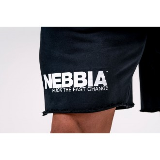Nebbia šortky Legday Hero 179 - Čierna