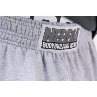 Nebbia tepláky Best Mode On 186 - Sivá