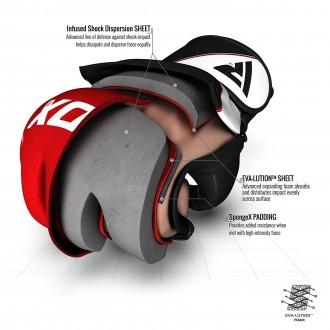 RDX F12 MMA Rukavice - Modré