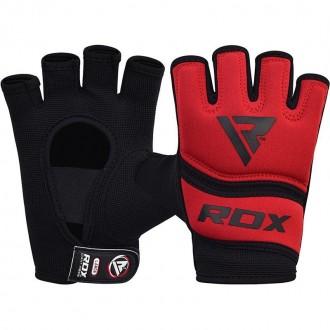 RDX Gelové bandáže rúk X6 - červené